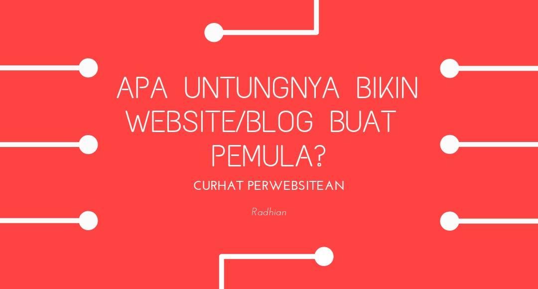 bikin website sendiri