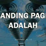 pengertian landing page