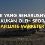 afiliate marketer